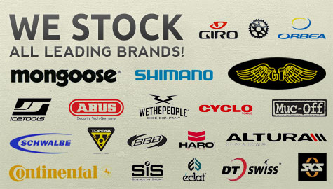 We Stock All Leading Brands!